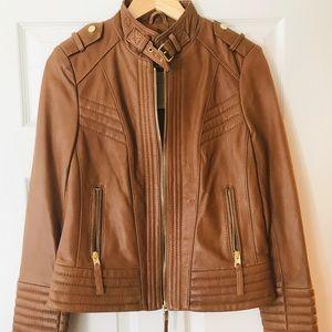 Brand New Michael Kors Leather Jacket